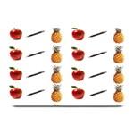 Ppap Pen Pineapple Apple Pen Plate Mats 18 x12 Plate Mat - 1