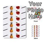Ppap Pen Pineapple Apple Pen Multi-purpose Cards (Rectangle)  Back 22
