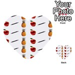 Ppap Pen Pineapple Apple Pen Multi-purpose Cards (Heart)  Back 1
