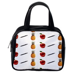 Ppap Pen Pineapple Apple Pen Classic Handbags (One Side)