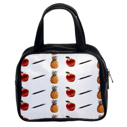 Ppap Pen Pineapple Apple Pen Classic Handbags (2 Sides)