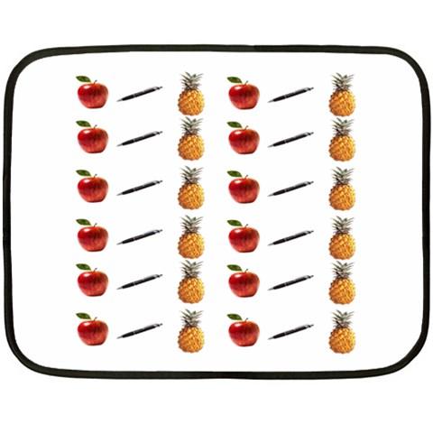Ppap Pen Pineapple Apple Pen Fleece Blanket (Mini)