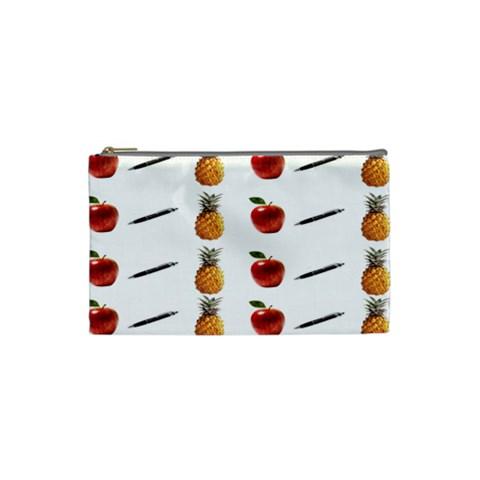 Ppap Pen Pineapple Apple Pen Cosmetic Bag (Small)