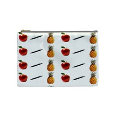 Ppap Pen Pineapple Apple Pen Cosmetic Bag (Medium)