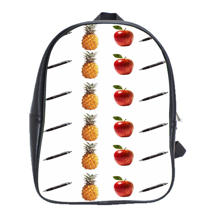 Ppap Pen Pineapple Apple Pen School Bags(Large)