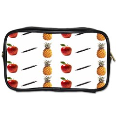 Ppap Pen Pineapple Apple Pen Toiletries Bags 2-Side