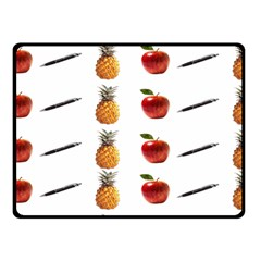 Ppap Pen Pineapple Apple Pen Fleece Blanket (Small)