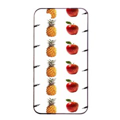 Ppap Pen Pineapple Apple Pen Apple iPhone 4/4s Seamless Case (Black)