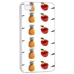 Ppap Pen Pineapple Apple Pen Apple iPhone 4/4s Seamless Case (White)