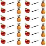 Ppap Pen Pineapple Apple Pen Best Friends 3D Greeting Card (8x4) Inside