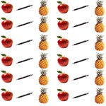 Ppap Pen Pineapple Apple Pen PARTY 3D Greeting Card (8x4) Inside