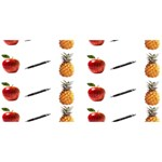 Ppap Pen Pineapple Apple Pen SORRY 3D Greeting Card (8x4) Front