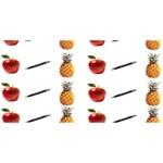 Ppap Pen Pineapple Apple Pen Best Wish 3D Greeting Card (8x4) Back