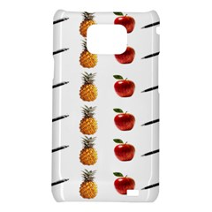 Ppap Pen Pineapple Apple Pen Samsung Galaxy S2 i9100 Hardshell Case
