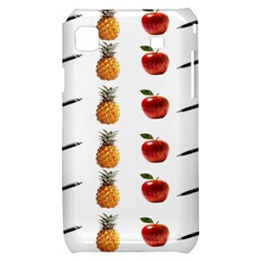 Ppap Pen Pineapple Apple Pen Samsung Galaxy S i9000 Hardshell Case