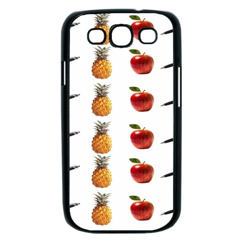 Ppap Pen Pineapple Apple Pen Samsung Galaxy S III Case (Black)