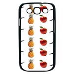Ppap Pen Pineapple Apple Pen Samsung Galaxy S III Case (Black) Front