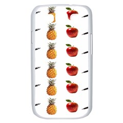 Ppap Pen Pineapple Apple Pen Samsung Galaxy S III Case (White)