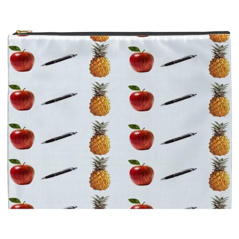 Ppap Pen Pineapple Apple Pen Cosmetic Bag (XXXL)
