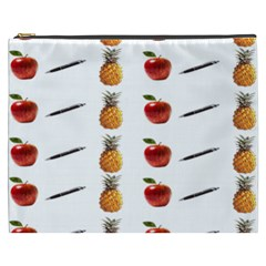 Ppap Pen Pineapple Apple Pen Cosmetic Bag (XXXL)