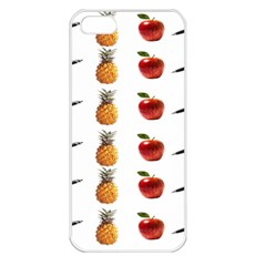 Ppap Pen Pineapple Apple Pen Apple iPhone 5 Seamless Case (White)