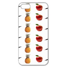 Ppap Pen Pineapple Apple Pen Apple Seamless iPhone 5 Case (Clear)