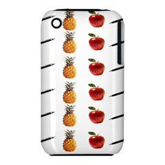 Ppap Pen Pineapple Apple Pen Apple iPhone 3G/3GS Hardshell Case (PC+Silicone)