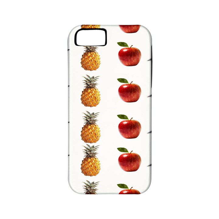 Ppap Pen Pineapple Apple Pen Apple iPhone 5 Classic Hardshell Case (PC+Silicone)