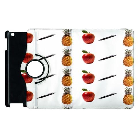 Ppap Pen Pineapple Apple Pen Apple iPad 3/4 Flip 360 Case