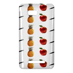 Ppap Pen Pineapple Apple Pen HTC One SU T528W Hardshell Case