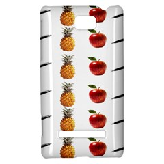 Ppap Pen Pineapple Apple Pen HTC 8S Hardshell Case