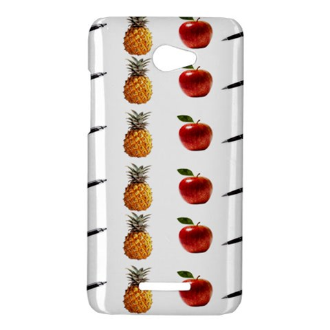 Ppap Pen Pineapple Apple Pen HTC Butterfly X920E Hardshell Case