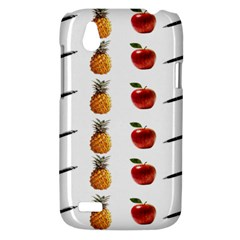 Ppap Pen Pineapple Apple Pen HTC Desire V (T328W) Hardshell Case