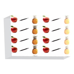 Ppap Pen Pineapple Apple Pen 4 x 6  Acrylic Photo Blocks