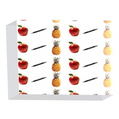 Ppap Pen Pineapple Apple Pen 5 x 7  Acrylic Photo Blocks