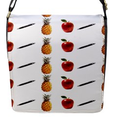 Ppap Pen Pineapple Apple Pen Flap Messenger Bag (S)