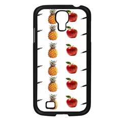 Ppap Pen Pineapple Apple Pen Samsung Galaxy S4 I9500/ I9505 Case (Black)