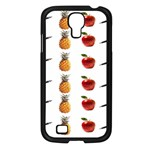 Ppap Pen Pineapple Apple Pen Samsung Galaxy S4 I9500/ I9505 Case (Black) Front