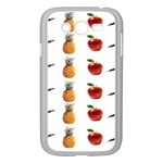 Ppap Pen Pineapple Apple Pen Samsung Galaxy Grand DUOS I9082 Case (White) Front