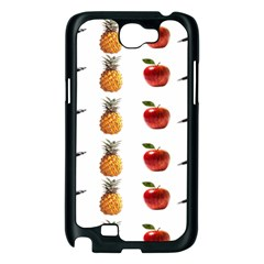 Ppap Pen Pineapple Apple Pen Samsung Galaxy Note 2 Case (Black)