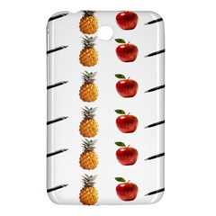 Ppap Pen Pineapple Apple Pen Samsung Galaxy Tab 3 (7 ) P3200 Hardshell Case
