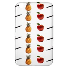 Ppap Pen Pineapple Apple Pen Samsung Galaxy Tab 3 (8 ) T3100 Hardshell Case