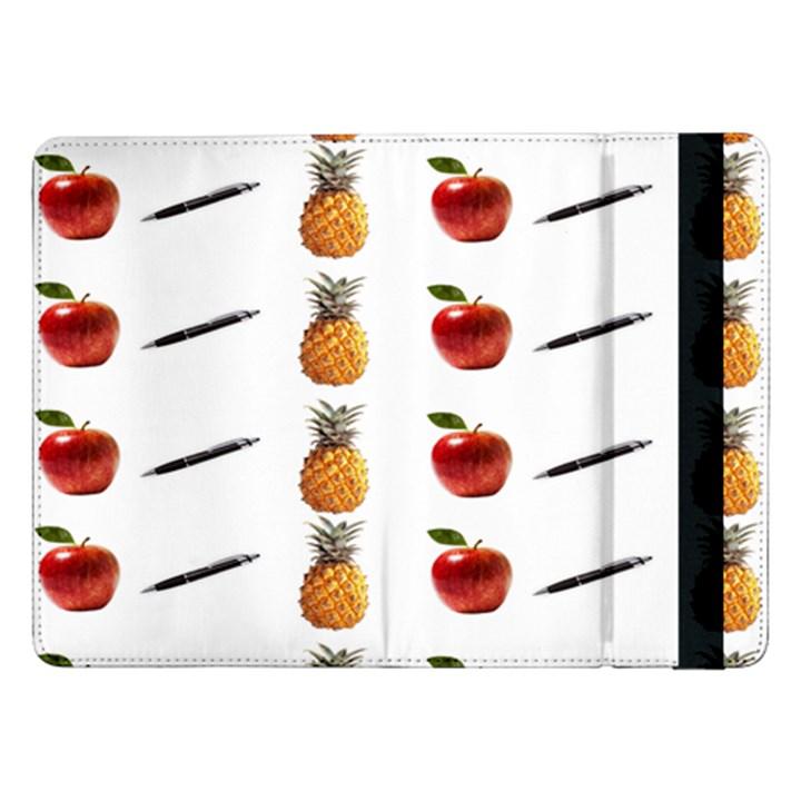 Ppap Pen Pineapple Apple Pen Samsung Galaxy Tab Pro 12.2  Flip Case