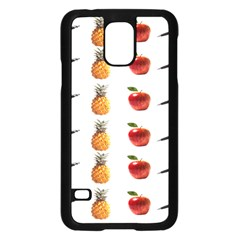 Ppap Pen Pineapple Apple Pen Samsung Galaxy S5 Case (Black)