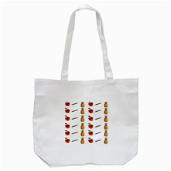 Ppap Pen Pineapple Apple Pen Tote Bag (White)