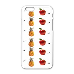 Ppap Pen Pineapple Apple Pen Apple iPhone 6/6S White Enamel Case
