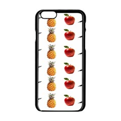 Ppap Pen Pineapple Apple Pen Apple iPhone 6/6S Black Enamel Case