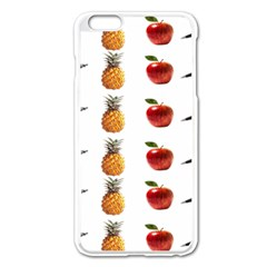 Ppap Pen Pineapple Apple Pen Apple iPhone 6 Plus/6S Plus Enamel White Case