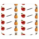 Ppap Pen Pineapple Apple Pen Double Sided Flano Blanket (Small)  50 x40 Blanket Front