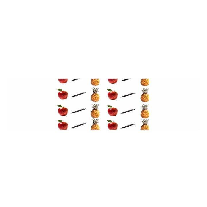 Ppap Pen Pineapple Apple Pen Satin Scarf (Oblong)